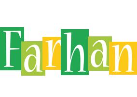 Farhan lemonade logo