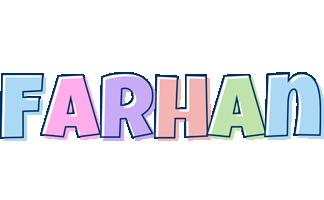 Farhan pastel logo