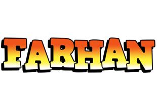 Farhan sunset logo