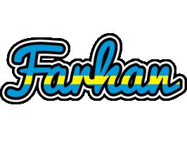 Farhan sweden logo