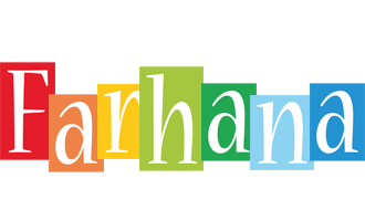 Farhana colors logo
