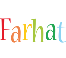 Farhat birthday logo