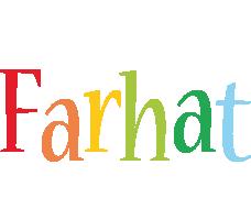 Farhat birthday logo