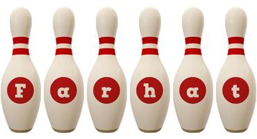 Farhat bowling-pin logo