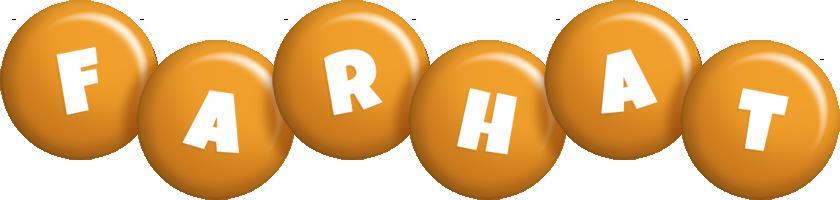 Farhat candy-orange logo