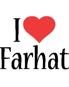 Farhat i-love logo