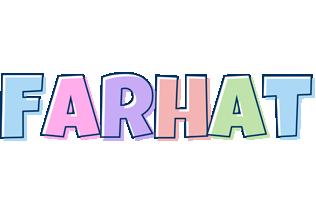 Farhat pastel logo