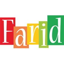 Farid colors logo