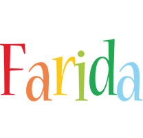Farida birthday logo
