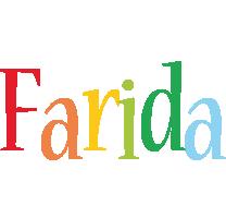 Farida birthday logo
