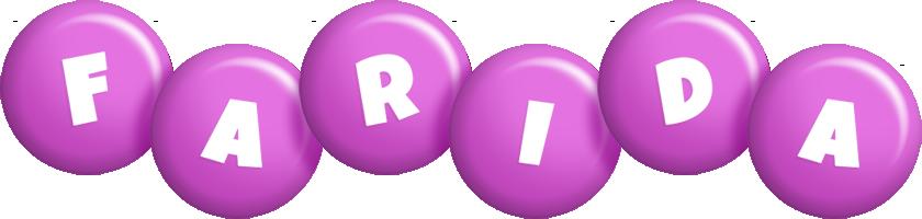 Farida candy-purple logo