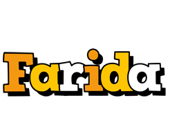Farida cartoon logo