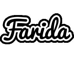 Farida chess logo