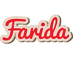 Farida chocolate logo