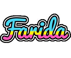 Farida circus logo