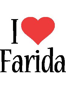 Farida i-love logo