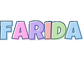 Farida pastel logo