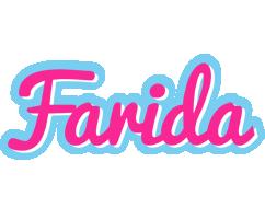 Farida popstar logo