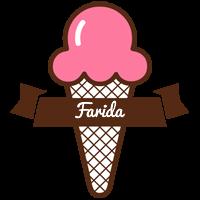 Farida premium logo