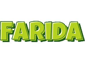 Farida summer logo