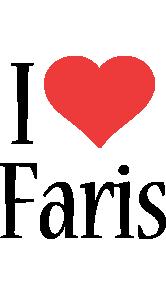Faris i-love logo