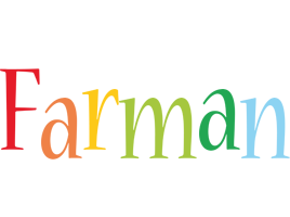 Farman birthday logo
