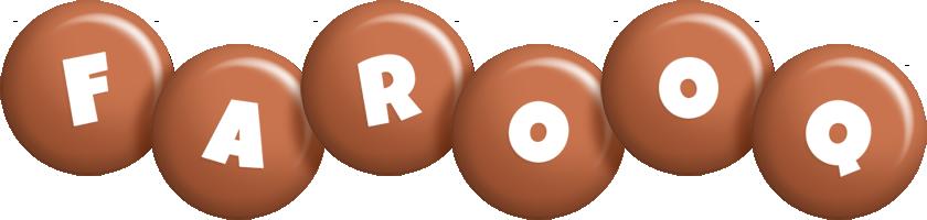 Farooq candy-brown logo