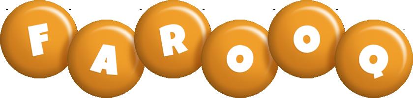 Farooq candy-orange logo