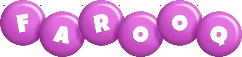 Farooq candy-purple logo
