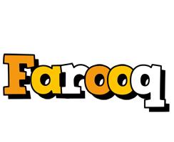 Farooq cartoon logo
