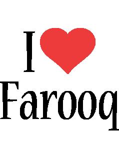 Farooq i-love logo