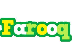Farooq soccer logo