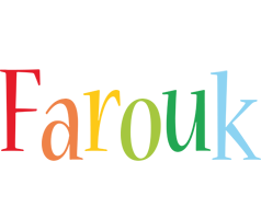 Farouk birthday logo