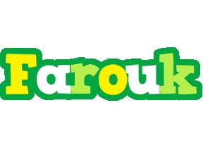 Farouk soccer logo