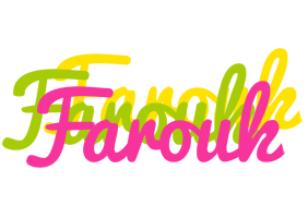 Farouk sweets logo