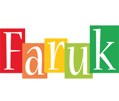 Faruk colors logo