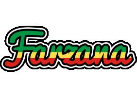 Farzana african logo
