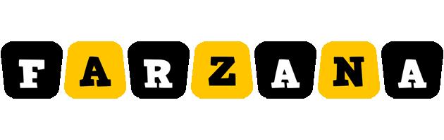Farzana boots logo