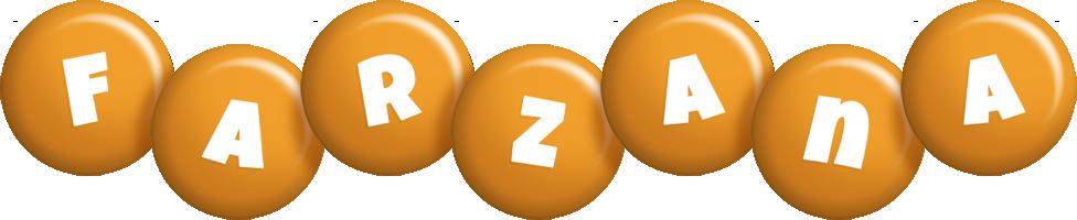 Farzana candy-orange logo