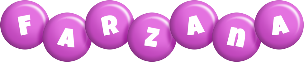 Farzana candy-purple logo