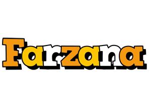 Farzana cartoon logo