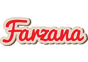 Farzana chocolate logo