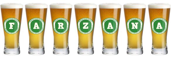 Farzana lager logo