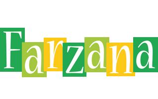 Farzana lemonade logo