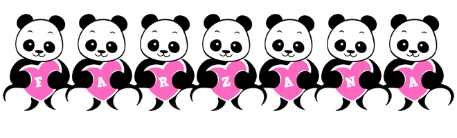 Farzana love-panda logo
