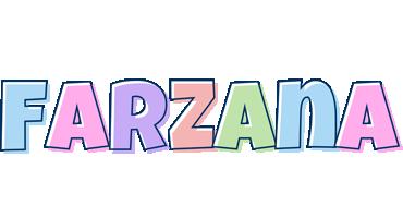 Farzana pastel logo