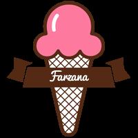 Farzana premium logo
