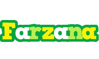 Farzana soccer logo
