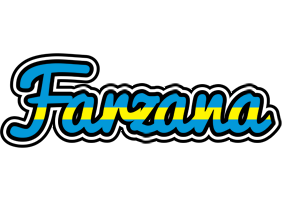 Farzana sweden logo