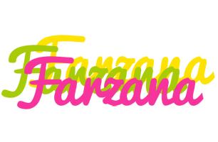 Farzana sweets logo